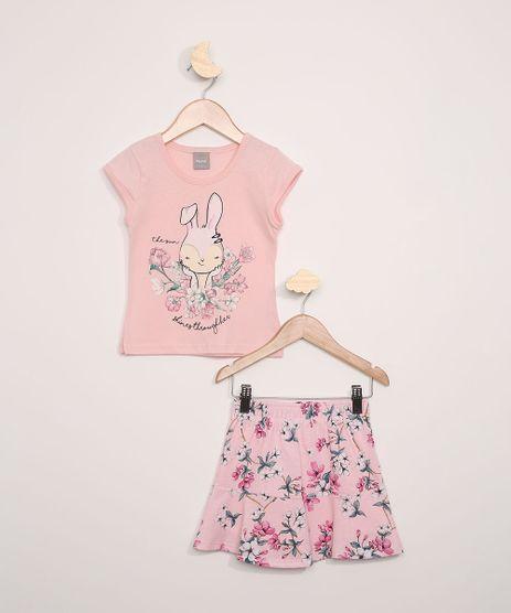 Conjunto-Infantil-Brandili-Mundi-Blusa-Manga-Curta-Rosa---Short-Saia-Estampado-Floral-Rosa-9975611-Rosa_1