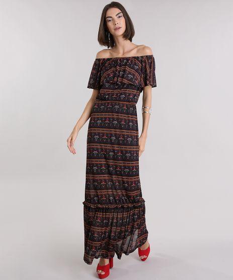 Vestido-Longo-Ombro-a-Ombro-Estampado-Floral-Preto-8968704-Preto_1