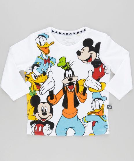 Camiseta-Turma-do-Mickey-em-Algodao---Sustentavel-Branca-9042789-Branco_1