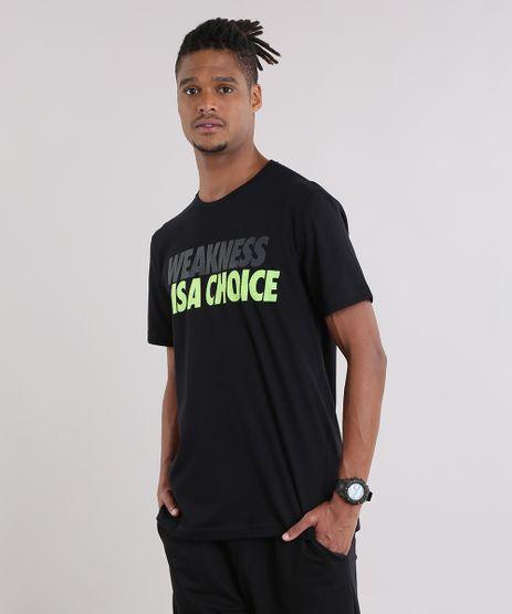 Camiseta-Ace--Weakness-Is-A-Choice--Preta-9048054-Preto_1