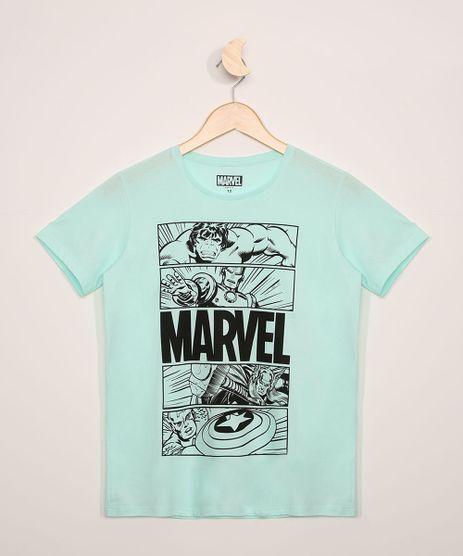 Camiseta-Juvenil-Os-Vingadores-Manga-Curta-Verde-Claro-9973317-Verde_Claro_1