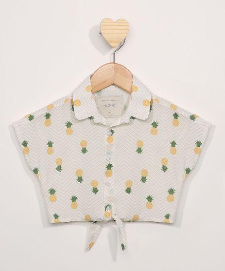 Camisa-Infantil-Cropped-Estampada-Abacaxis-Manga-Curta-com-Linho-Off-White-9971355-Off_White_1