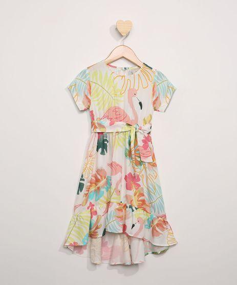 Vestido-Infantil-Midi-Estampado-Flamingos-com-Babados-Manga-Curta-Off-White-9965247-Off_White_1