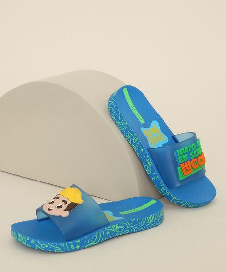 Chinelo-Slide-Infantil-Ipanema-Luccas-Neto-Azul-9975437-Azul_1