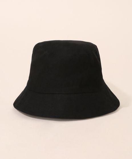 Chapeu-Bucket-Hat-de-Sarja-Unissex-Preto-9973361-Preto_1