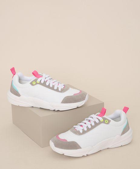 Tenis-Feminino-Oneself-Sneaker-Chunky-Branco-9971051-Branco_1