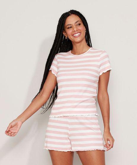 Pijama-Feminino-Listrado-Manga-Curta-Rosa-9973675-Rosa_1