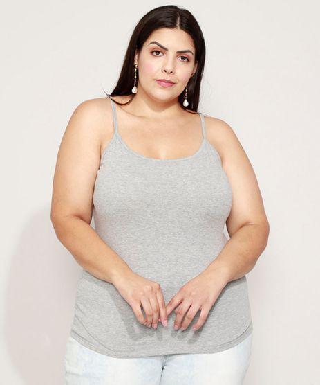 Regata-Feminina-Plus-Size-Basica-Alca-Fina-Decote-Redondo-Cinza-Mescla-9976204-Cinza_Mescla_1
