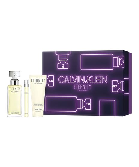 Kit-Calvin-Klein-Eternity-For-Women-Perfume-EDP-100ml---Hidratante-Corporal-100ml---Perfume-EDP-10ml-Feminino---1-Unidade-Unico-9977669-Unico_1