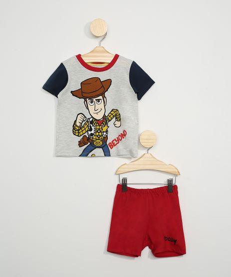 Pijama-Infantil-Toy-Story-Woody-Manga-Curta-Cinza-Mescla-9966405-Cinza_Mescla_1