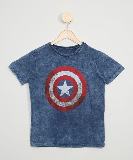 Camiseta-Juvenil-Capitao-America-Manga-Curta-Azul-9969593-Azul_1