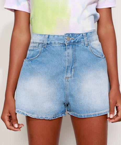 Short-Jeans-Feminino-Sawary-Gode-Cintura-Alta-Azul-Claro-9980120-Azul_Claro_1