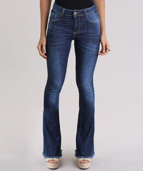 Calca-Jeans-Flare-Sawary-Azul-Escuro-9106141-Azul_Escuro_1
