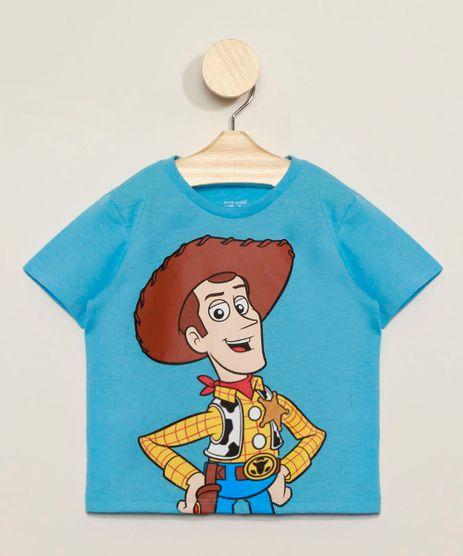 Camiseta-Infantil-Toy-Story-Woody-Manga-Curta-Gola-Careca-Azul-9970066-Azul_1