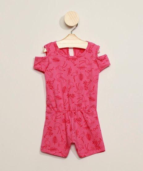 Macaquinho-Infantil-Estampado-Flamingos-Open-Shoulder-Manga-Curta-Decote-Redondo-Pink-9969023-Pink_1
