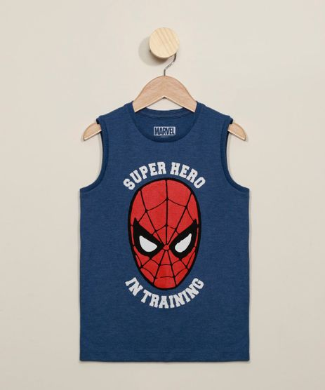 Regata-Infantil-Homem-Aranha--Super-Hero-In-Training--Azul-9973298-Azul_1