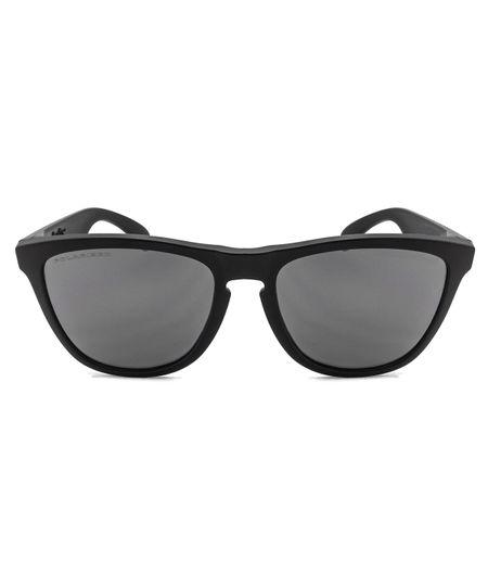 4961fa77fcb09 Óculos de Sol Oakley Frogskins OO9013 - Matte Black   Black Iridium  Polarized - 24-297 55