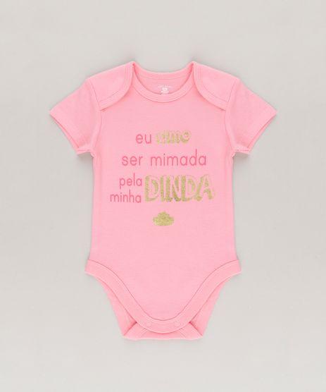 Body--Eu-Amo-Ser-Mimada-Pela-Minha-Dinda--em--Algodao---Sustentavel-Rosa-8768854-Rosa_1