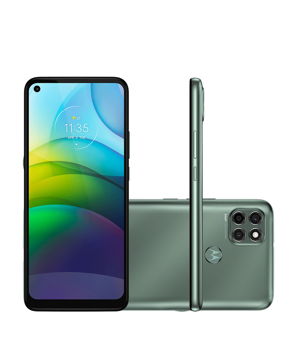 Smartphone Motorola XT2091-4 Moto G9 Power 128GB Verde Pacífico