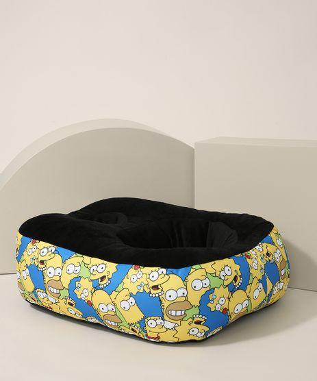 Almofada-Porta-Pipoca-Estampada-Os-Simpsons-Preta-9973575-Preto_1