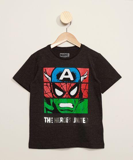 Camiseta-Infantil-Os-Vingadores-Metalizada-Manga-Curta-Cinza-Mescla-Escuro-9973297-Cinza_Mescla_Escuro_1