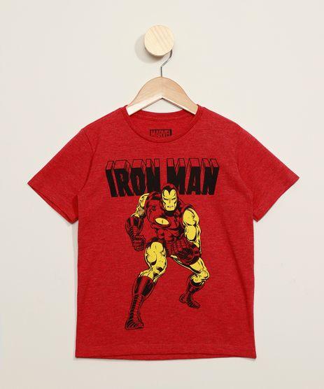 Camiseta-Infantil-Homem-de-Ferro-Flocada-Manga-Curta-Vermelha-9973309-Vermelho_1