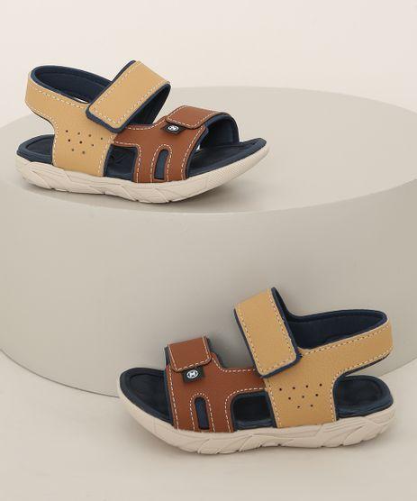 Sandalia-Papete-Infantil-Molekinho-com-Velcro-Caramelo-9974368-Caramelo_1