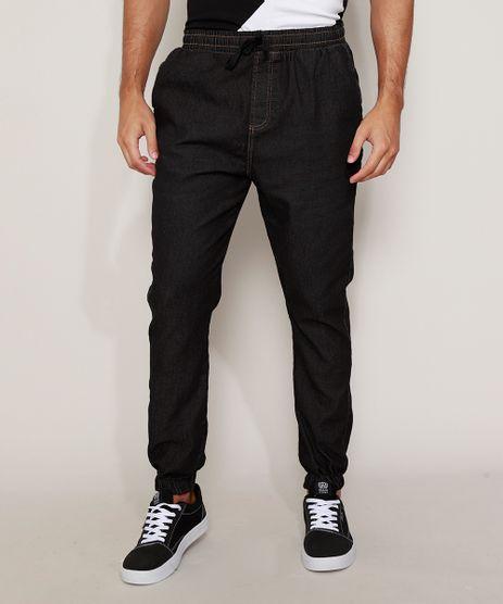 Calca-Jeans-Masculina-Jogger-Skinny-com-Cordao-Azul-Escuro-9984195-Azul_Escuro_1