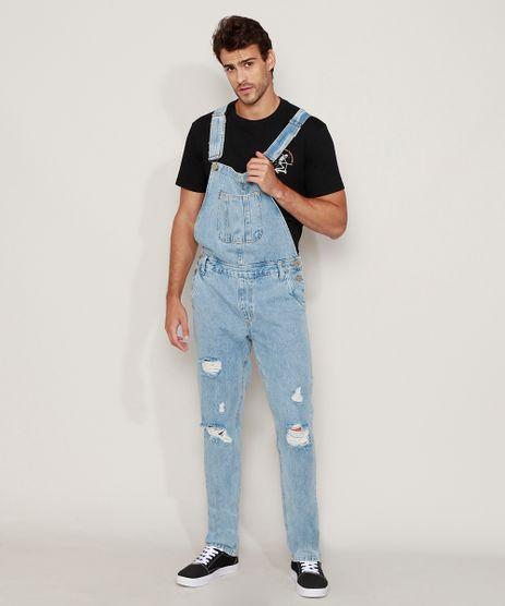 Macacao-Jeans-Masculino-Destroyed-Azul-Claro-9968261-Azul_Claro_1