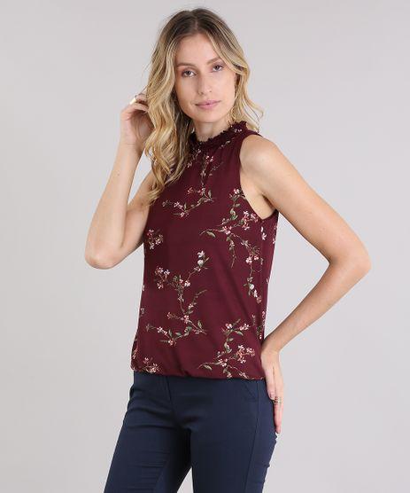 Regata-Halter-Neck-Estampada-Floral-Vinho-8954023-Vinho_1