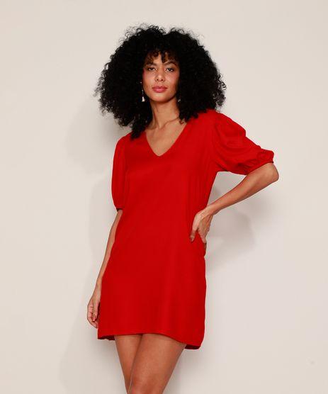 Vestido-Feminino-Curto-Manga-Bufante-Vermelho-9975328-Vermelho_1