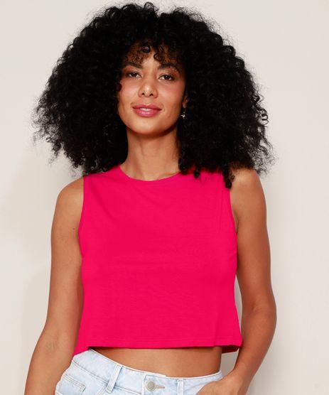 Regata-Feminina-Basica-Cropped-Decote-Redondo-Pink-9974806-Pink_1