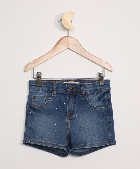 Short-Jeans-Infantil-com-Strass-Azul-Medio-9965694-Azul_Medio_1