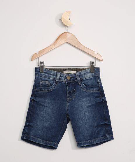 Bermuda-Jeans-Infantil-Reta-Azul-Escuro-9973788-Azul_Escuro_1