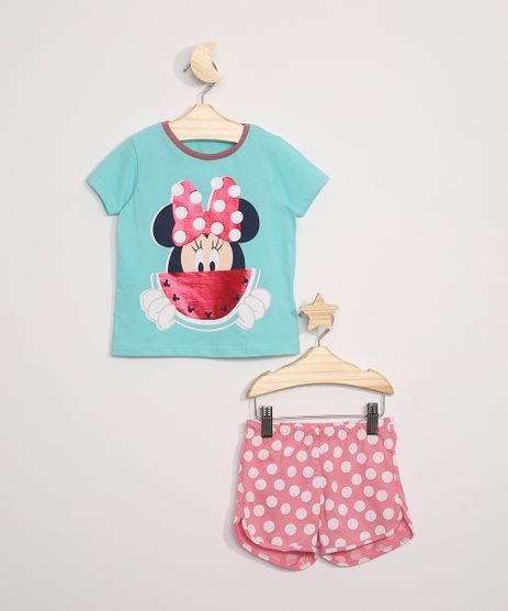 Pijama-Infantil-Minnie-e-Melancia-Manga-Curta-Verde-Agua-9964011-Verde_Agua_1