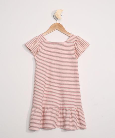 Vestido-Infantil-Listrado-com-Babado-Manga-Curta-Rosa-9971162-Rosa_1
