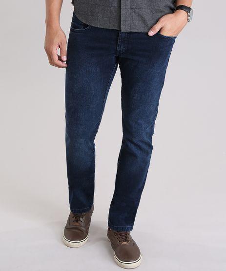 Calca-Jeans-Reta-em-Algodao---Sustentavel-Azul-Escuro-8700146-Azul_Escuro_1