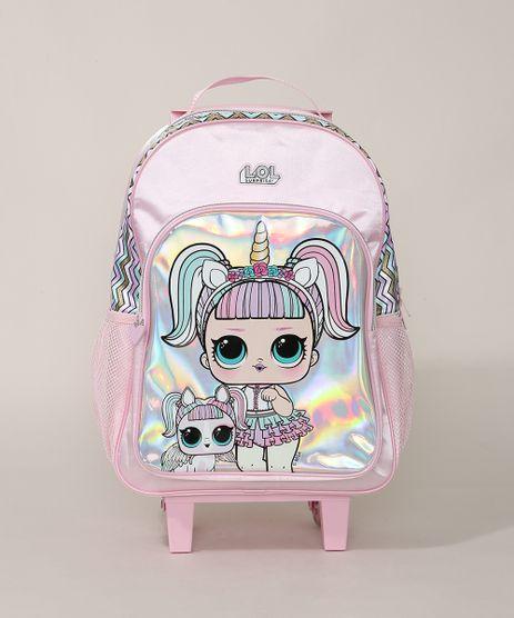 Mochila-Infantil-Lol-Surprise-com-Rodas--Rosa-Claro-9954509-Rosa_Claro_1