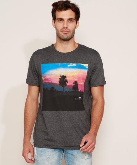 Camiseta-Masculina-Paisagem-Manga-Curta-Gola-Careca-Cinza-Mescla-Escuro-9960804-Cinza_Mescla_Escuro_1