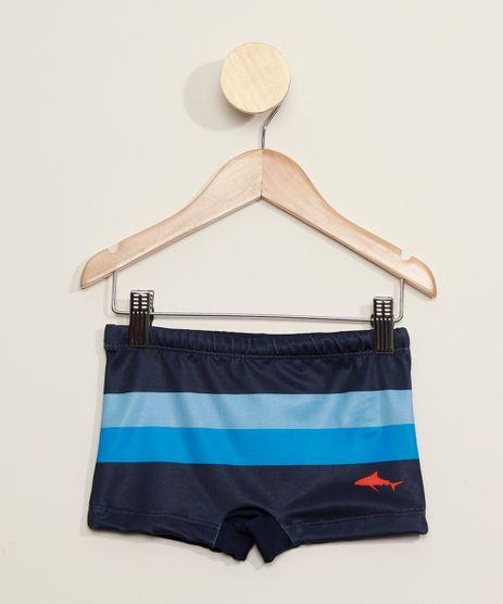 Sunga-Infantil-Boxer-com-Listras-e-Tubarao-Protecao-UV50--Azul-Marinho-9976177-Azul_Marinho_1
