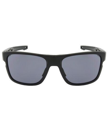 7b1b6ecb442c2 Óculos de Sol Oakley Crossrange OO9361 - Troca Haste - Polished Black - Grey  - 936101 57
