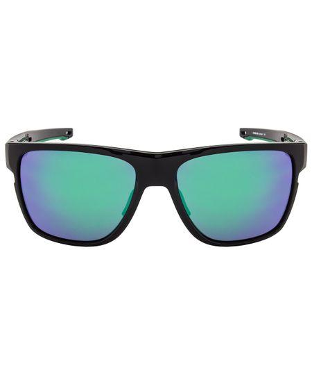7ebfbd61c Óculos de Sol Oakley Crossrange XL OO9360 - Troca Haste - Polished Black - Jade  Iridium - 02/58
