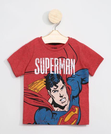 Camiseta-Infantil--Superman--Manga-Curta-Vermelha-9970068-Vermelho_1