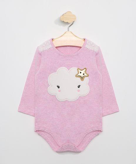 Body-Infantil-com-Patch-de-Nuvem-Manga-Longa-Rosa-9775499-Rosa_1