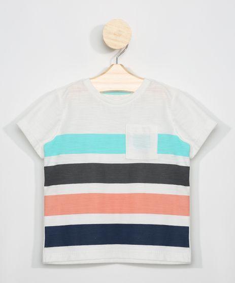 Camiseta-Flame-Infantil-com-Listras-e-Bolso-Manga-Curta-Off-White-9963505-Off_White_1
