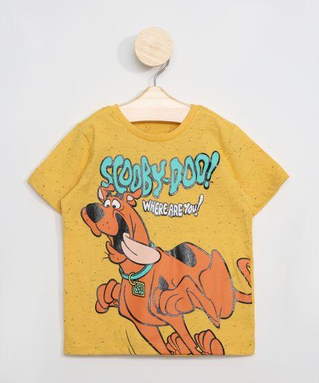 Camiseta-Botone-Infantil-Scooby-Doo-Manga-Curta-Amarela-9979055-Amarelo_1