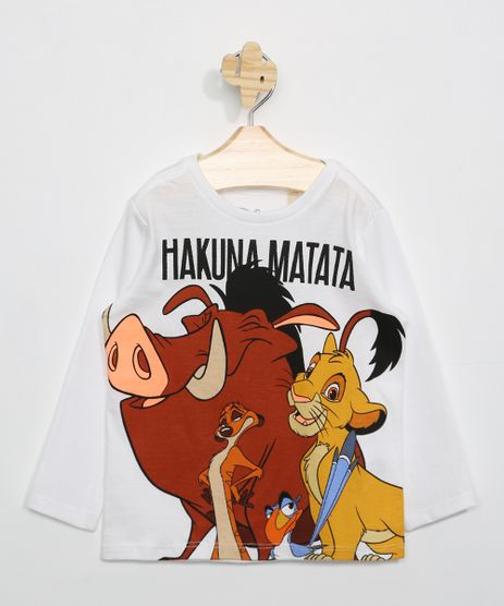 Camiseta-Infantil--Hakuna-Matata--Manga-Longa-Off-White-9979074-Off_White_1