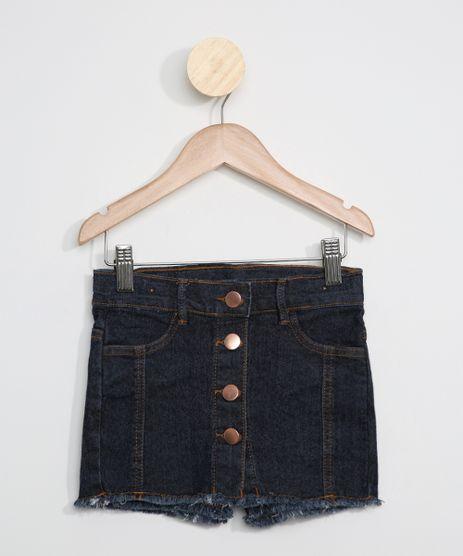 Short-Saia-Jeans-Infantil-com-Botoes-Azul-Escuro-9966243-Azul_Escuro_1