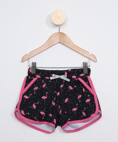 Short-de-Moletom-Infantil-Running-Estampado-Flamingos-Azul-Marinho-9967694-Azul_Marinho_1
