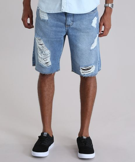 Bermuda-Jeans-Reta-Destroyed-Azul-Claro-Azul-Claro-8954140-Azul_Claro_1